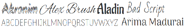 alt='Sample Fonts image'