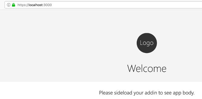 "alt=""office add-in welcome screen"""